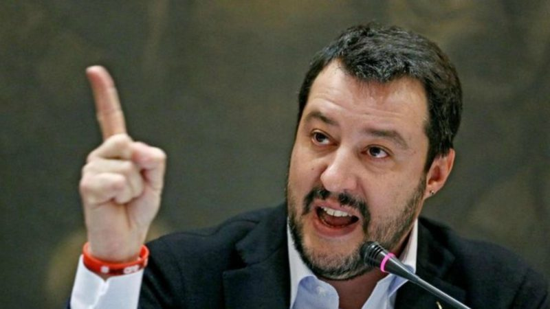 Matteo Salvini espère que la Vierge Marie lui fera gagner les élections   © Radio Alfa/Flickr/CC BY-NC-SA 2.0