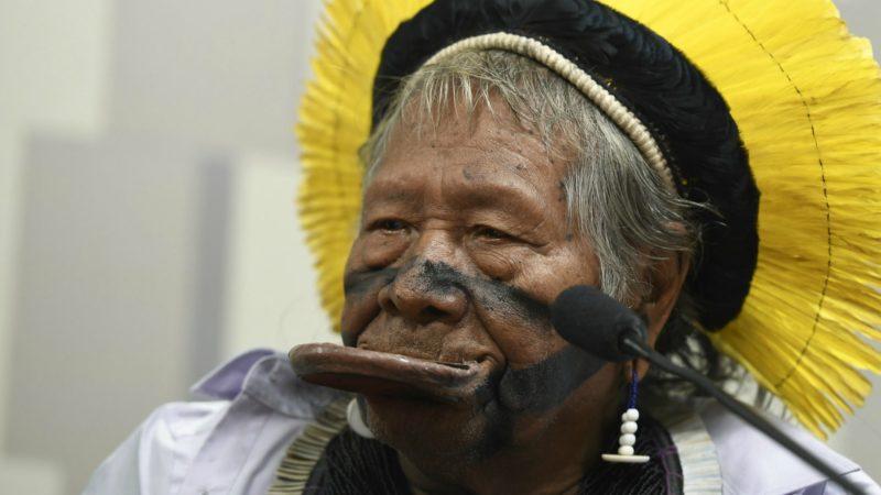 Raoni est une grande figure de la lutte pour la culture indigène | © Senado Federal/Flickr/CC BY 2.0
