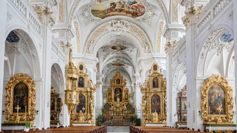 L'église abbatiale de Disentis (GR) est un joyau de l'art baroque | service de presse Thomas Andenmatten