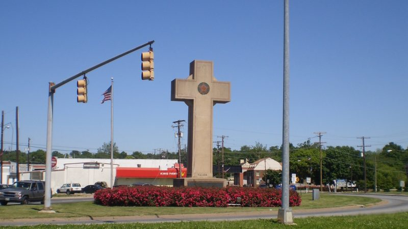 La Croix de la Paix du mémorial de Bladensburg, dans l'Etat du Maryland | wikimedia commons Ben Jacobson CC-BY 3.0