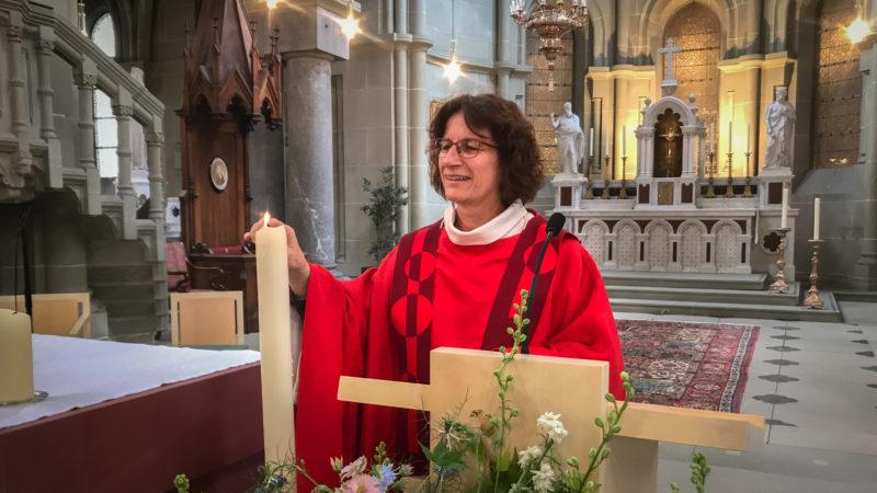 Anne-Marie Kaufmann, párroco de Berna, es una de las diez mujeres sacerdotes de Suiza |  © Pierre Pistoletti