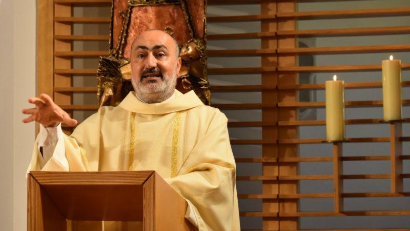 Le Père Ghazwan Youssif Baho, recteur du Babel College à Ankawa | © Jacques Berset