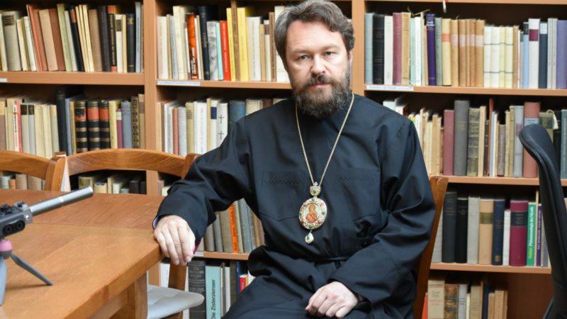 Le métropolite Hilarion de Volokolamsk, 'numéro deux' du Patriarcat de Moscou | © Jacques Berset