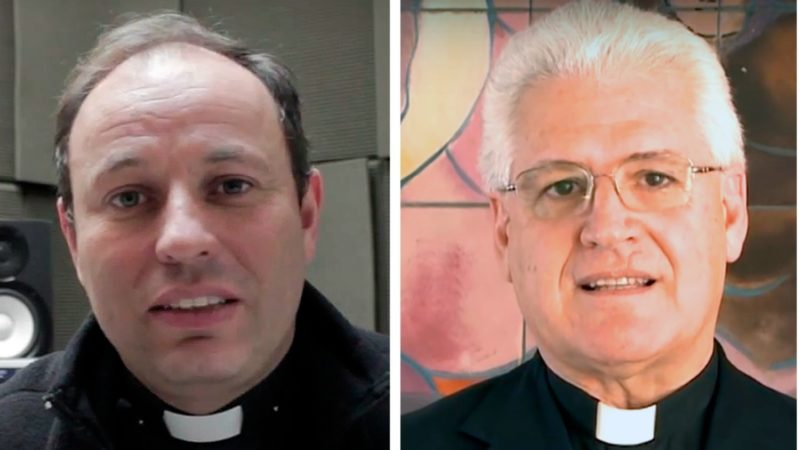 Les Pères Carlos Eugenio Irarrázaval Errázuriz et Alberto Ricardo Lorenzelli | Conférence épiscopale du Chili