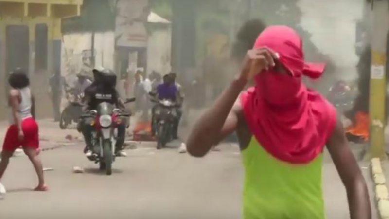 Manifestations à Port-au-Prince | Capture d'écran Youtube