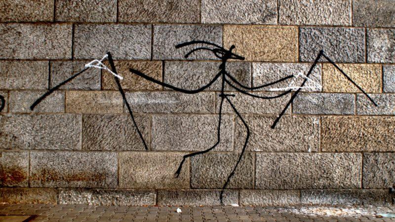 Harald Naegeli a longtemps produit son art sur les murs de Zurich | © caratello/flickr/CC BY-NC 2.0