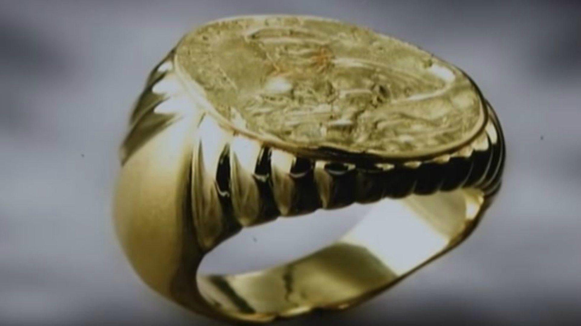 acheter vente en magasin style populaire L'anneau du pêcheur, filets jetés «pour conquérir les hommes ...