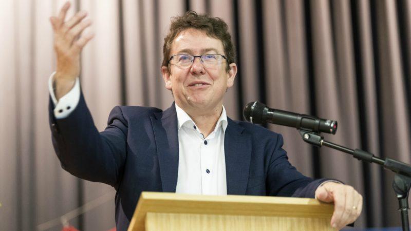 Le président de l'UDC Albert Rösti a réaffirmé la ligne politique du parti en matière d'environnement | © Keystone