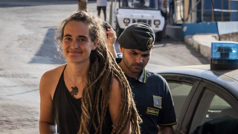 Carola Rackete, la capitaine du Sea Watch 3, a été arrêtée le 29 juin 2019 | © Keystone