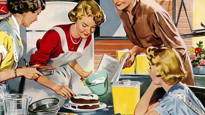 """L'image de la ménagère """"qui ne travaille pas"""" est toujours vivace (Pixabay.com)"""