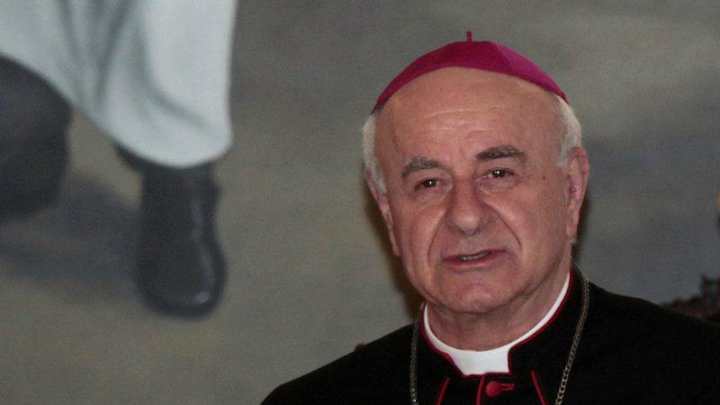 Mgr Vincenzo Paglia s'est attristé de la mort de Vincent Lambert (Photo:Presidencia Salvador)