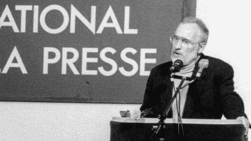 Yvan Stern reçoit le prix catholique suisse de la communication en 1997 | DR