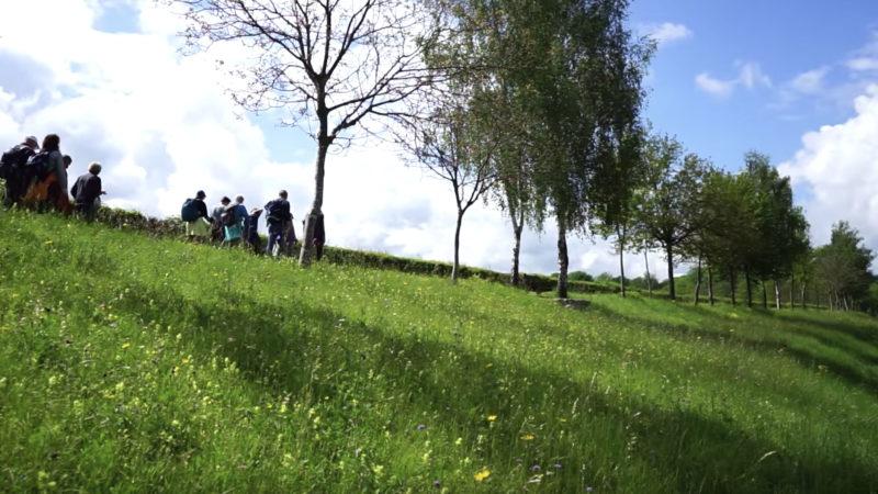 Accompagnateur de pèlerinage est une activité peu connue en Suisse romande.   © Pierre Pistolleti