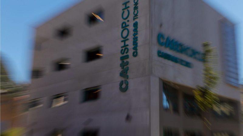 La sede principale di Caritas Ticino a Pregassona
