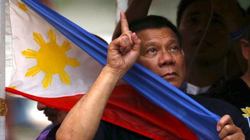 Il presidente delle Filippine