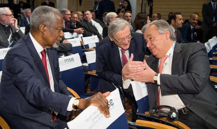 Kofi Annan all'Onu.