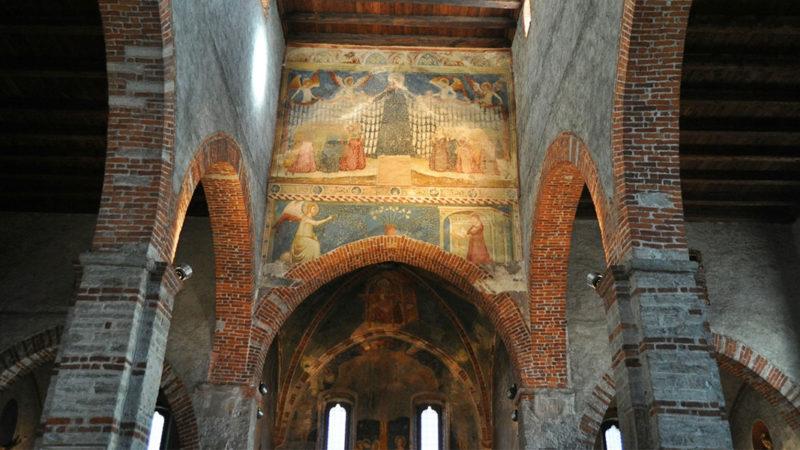 La chiesa di San Biagio a Ravecchia (interni); foto Parrocchia Ravecchia