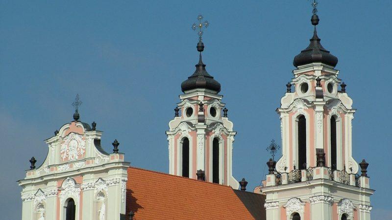 Chiesa di Santa Caterina a Vilnius, in Lituania.