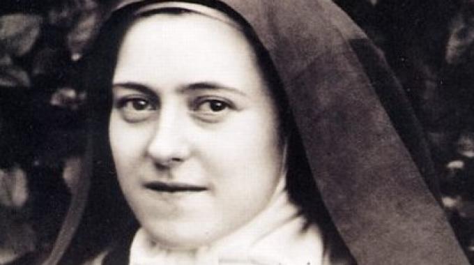 Santa Teresa di Lisieux.