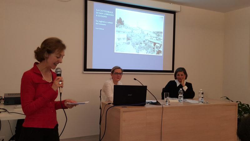 Conferenza pubblica sui restauri della Cattedrale, tenutasi lo scorso anno.