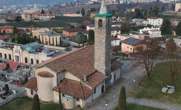 La chiesa San Giorgio di Morbio Inferiore.