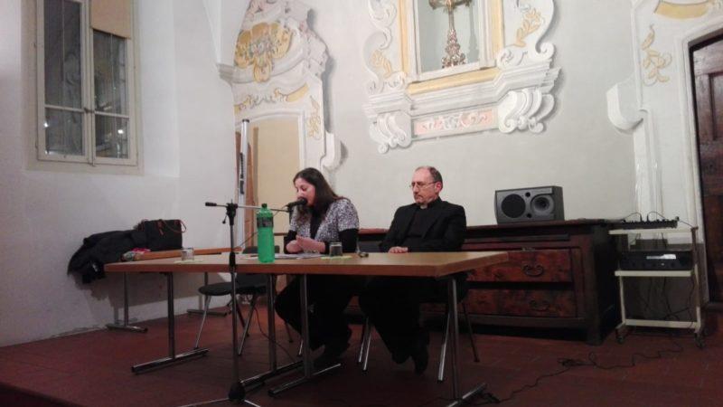 La dott.ssa Myriam di Marco con padre Bernardo Cervellera, DIrettore di AsiaNews.