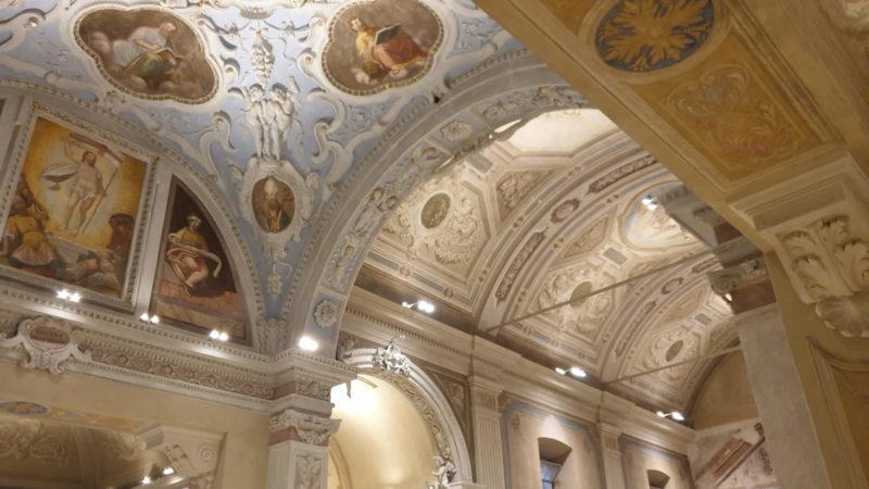Le volte restaurate della chiesa di Torricella - Foto di G. Geronzi