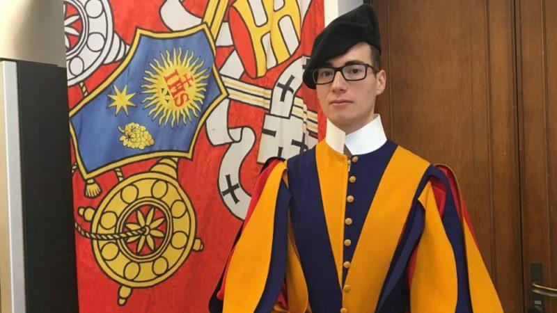 Thierry Roch, Guardia Svizzera e podista dell'Atletica Vaticana