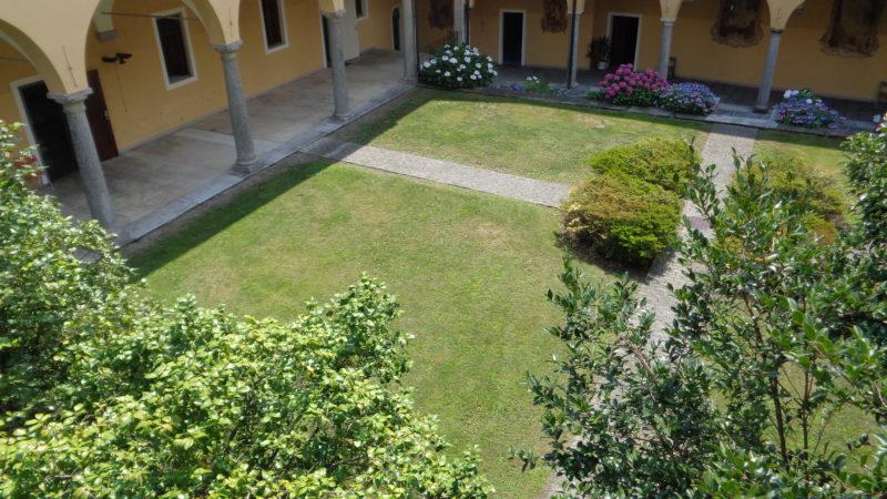Il chiostro del monastero di S. Caterina.