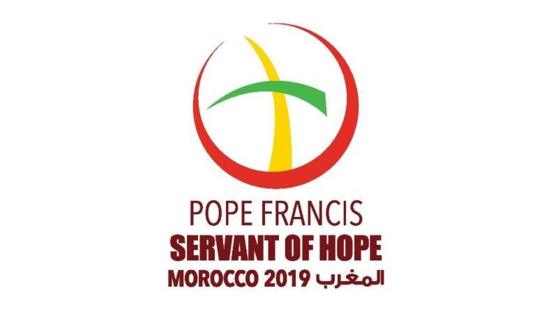 Il logo della visita del Papa in Marocco