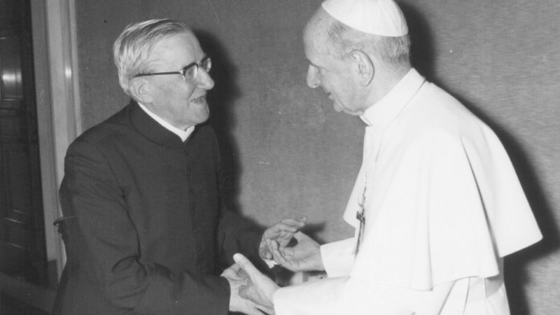 4.11.1975, udienza privata di mons. Del-Pietro con Paolo VI