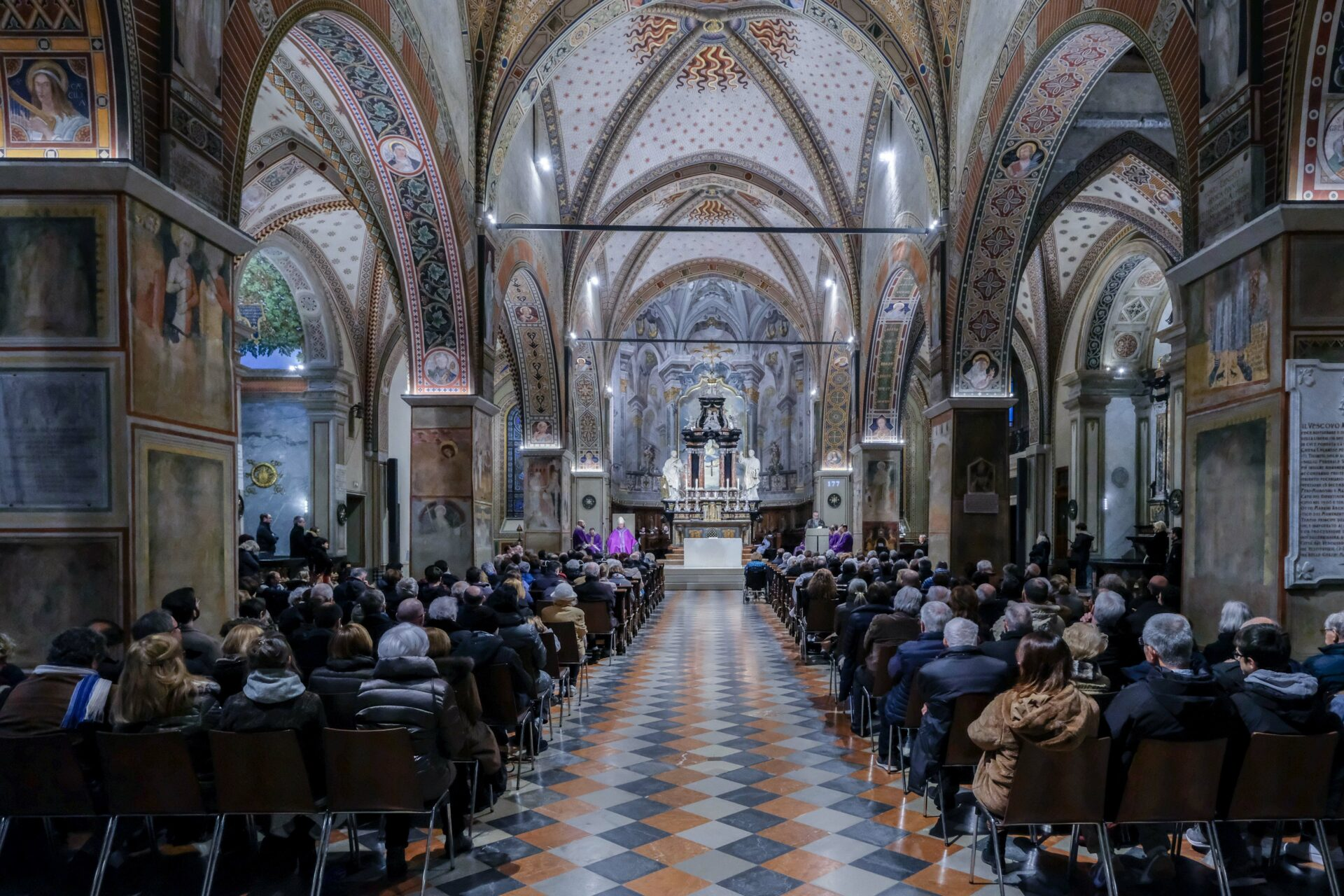 La celebrazione in cattedrale (foto M. Gianinazzi)