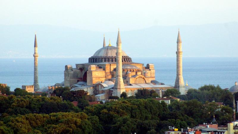 Hagia Sophia in Istanbul | © Georges Scherrer