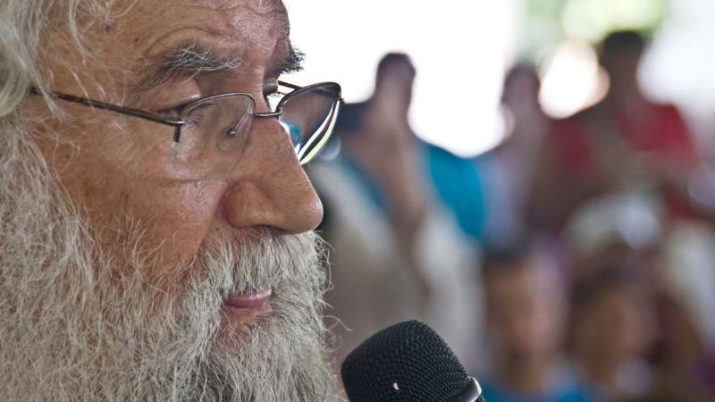 Leonardo Boff am 8. Weltsozialforum 2009 in Belem   © 2015 kna