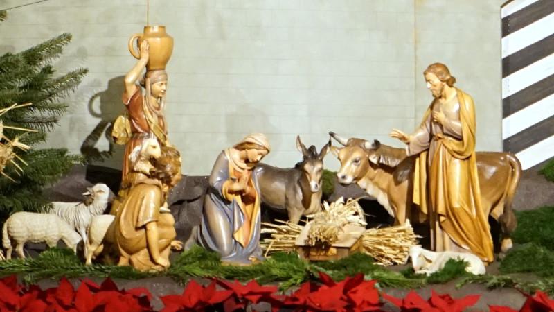Weihnachtskrippe in der Kathedrale Freiburg | © 2015 Georges Scherrer