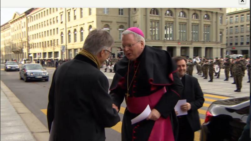 Nuntius Thomas E. Gullickson, Botschafter des Vatikan in der Schweiz | © 2016 screenshot SRF
