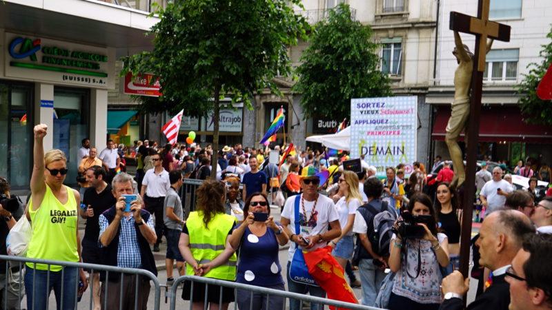 Pride-Parade in Freiburg | © 2016 Georges Scherrer