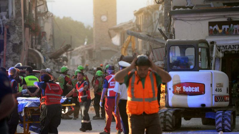 Erdbeben in Mittelitalien | © Keystone/DPA/Maurizio Gambarini