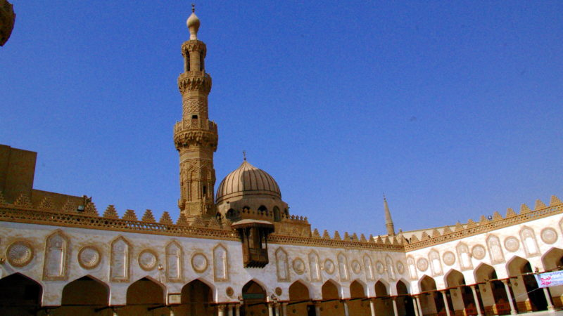Al Azhar Moschee in Kairo   © Georges Scherrer