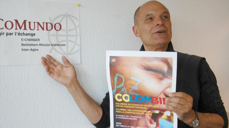 Sergio Ferrari, Informationsbeauftragter bei Echanger | Jacques Berset