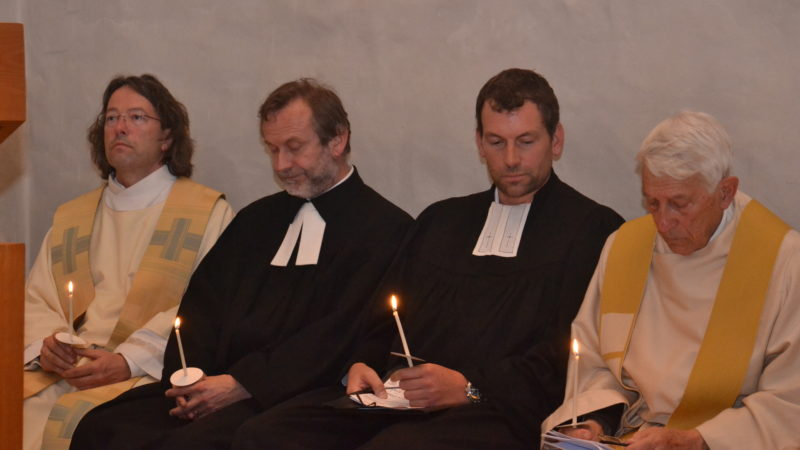 Ein Lutheraner, zwei Reformierte, ein Katholik | © Sylvia Stam