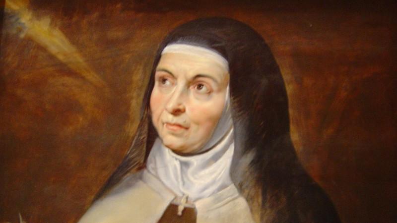 Sainte Thérèse d'Avila par Pierre-Paul Rubens