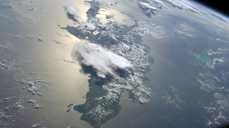 Haïti et la République dominicaine se partagent l'île d'Hispaniola (Photo:Nasa/Flickr/CC BY-NC 2.0)