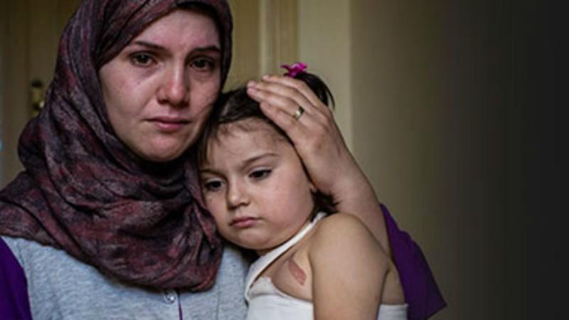 Famille de réfugiés syriens (Photo: UNHCR)