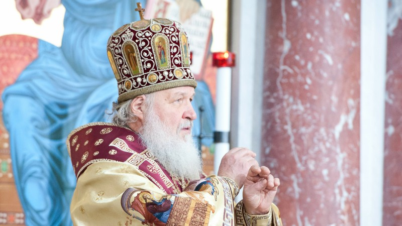 Cyrille, patriarche de Moscou (Photo:St-Petersburg orthodox theological academy/Flickr/CC BY-ND 2.0)