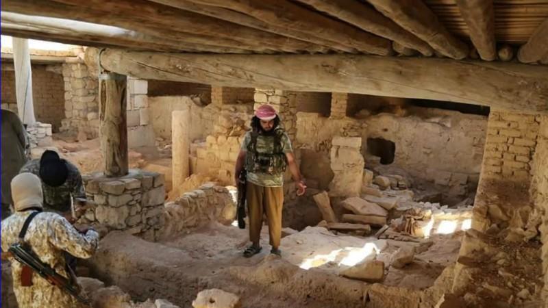 Syrie Les terroristes de Daech ont détruit le monastère de Mar Elian, à Qaryatayn (Photo: AINA)