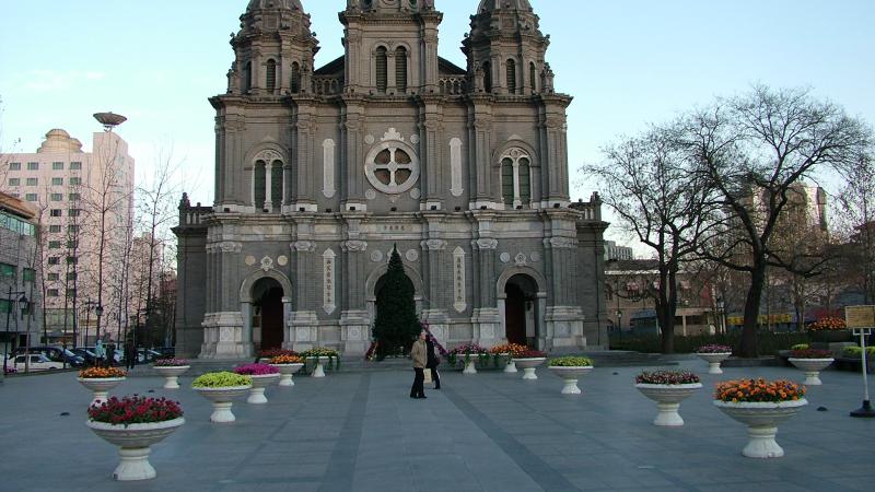L'église catholique de Wangfujing Jie, à Pékin (Photo:F. Gaurav Shroff/Flickr/CC BY-NC-ND 2.0)
