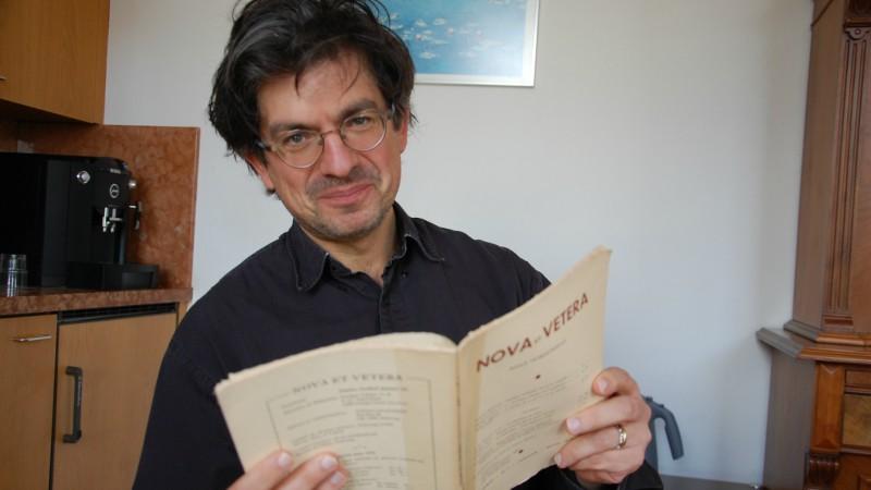 Fabrice Hadjadj, directeur de l'institut Philanthropos (Photo:  Jacques Berset)