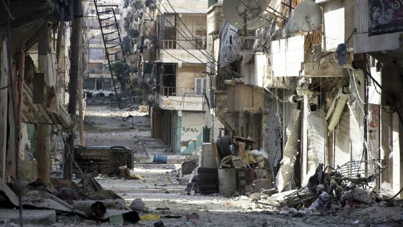 La ville d'Alep, en Syrie, est dévastée par les combats (Photo:Freedom House/Flickr/CC BY 2.0)