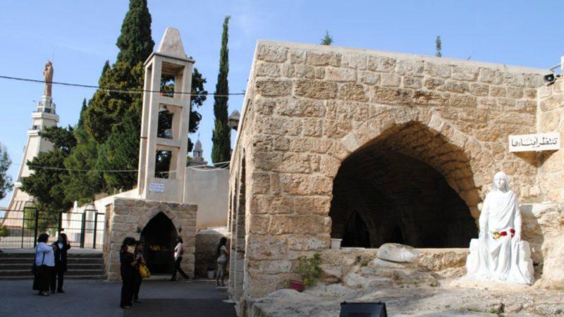 Grotte de Saydet El Mantara - Notre-Dame de l'Attente, à Maghdouché (Photo neoslb.com)